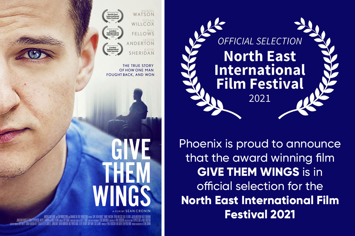 Give Them Wings - Official Selection for the North East International Film Festival 2021