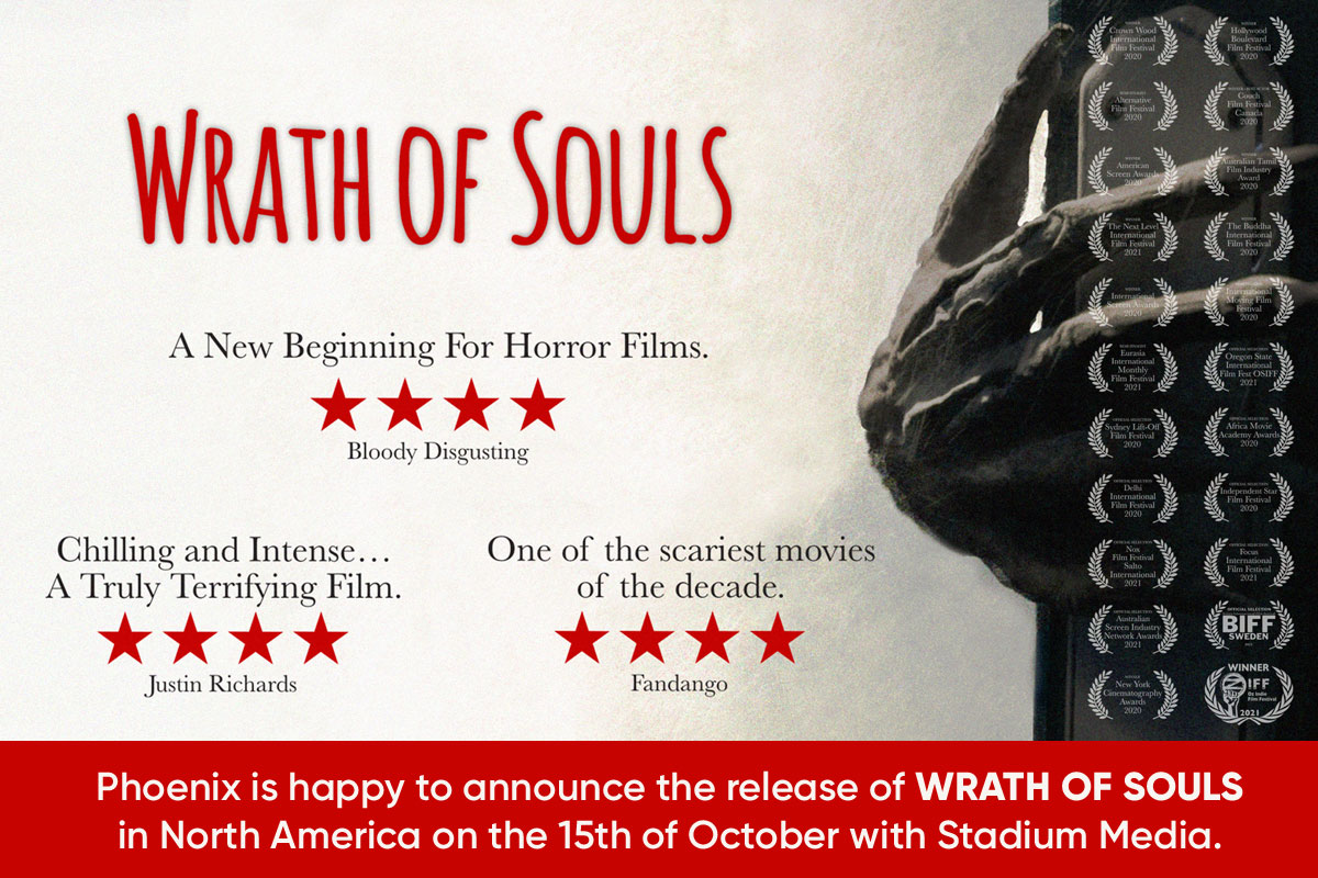Wrath of Souls release on the 15th of October in North America